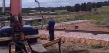 Гравий в бетон для фундамента адгезив для бетона